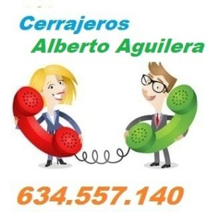 Telefono de la empresa cerrajeros Alberto Aguilera